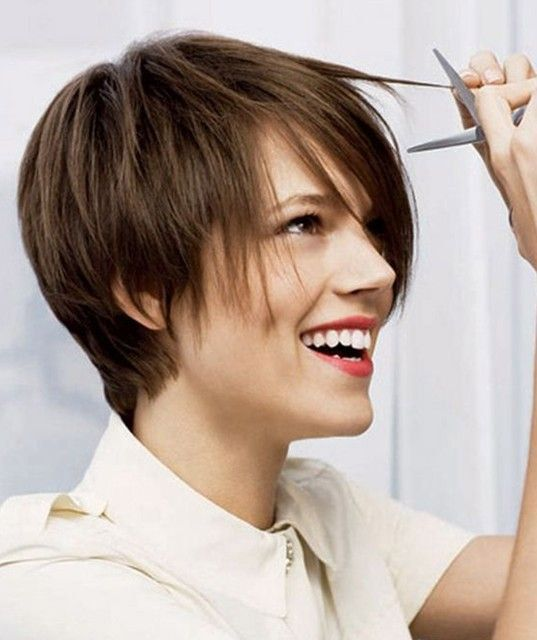 Coupe courte femme brune 2015 coupes cheveux pinterest shorter hair cuts hair cuts and - Coupe courte brune ...