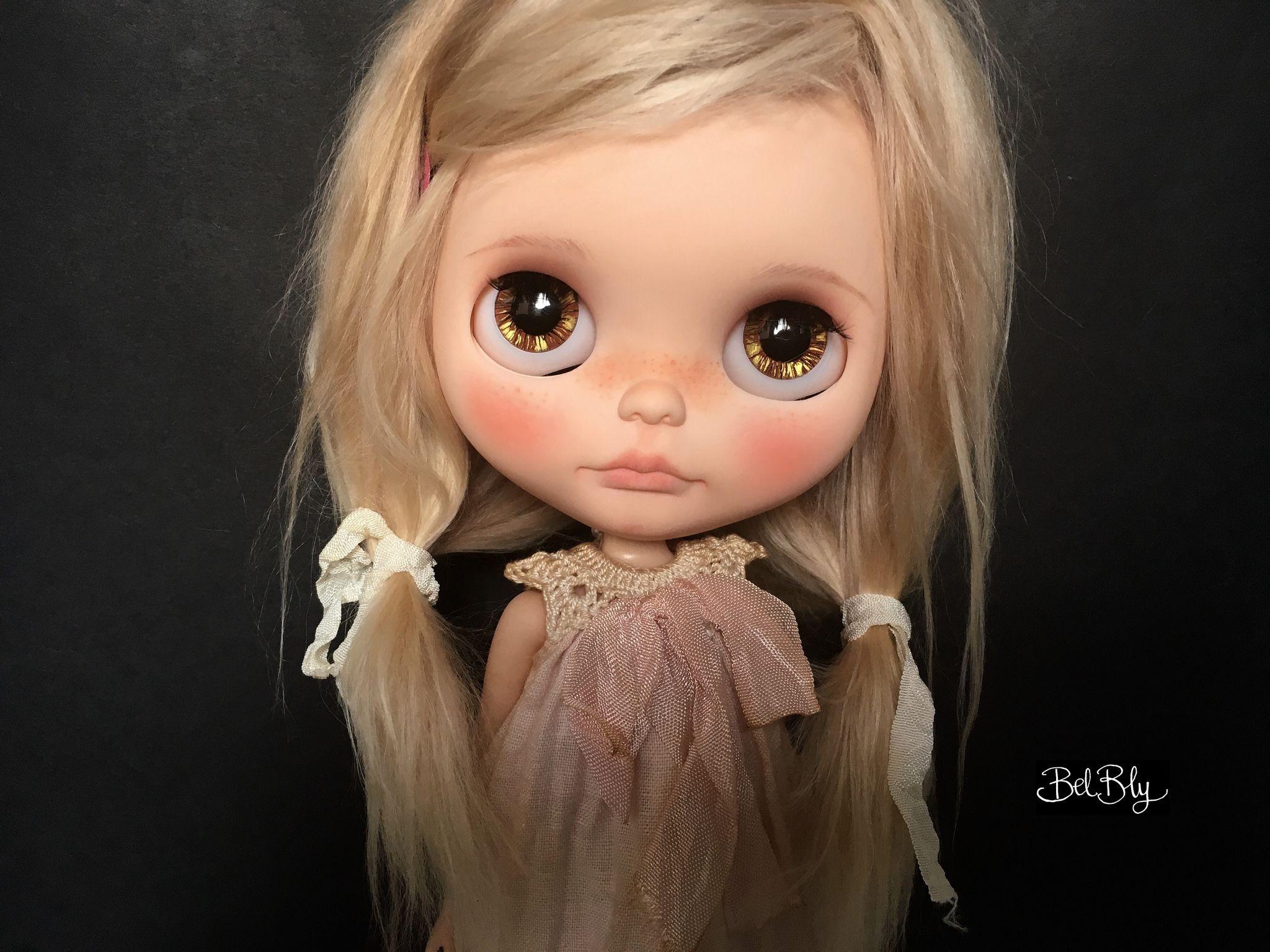 https://flic.kr/p/C77dma | Elaiza | My first blythe custom of the year