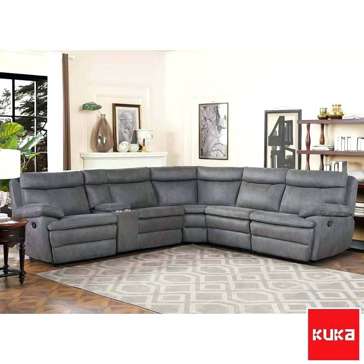 sectional recliner sofa with cup