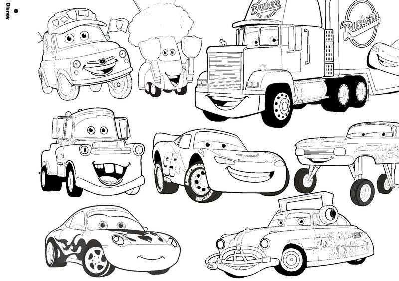Coloriage A Imprimer Cars