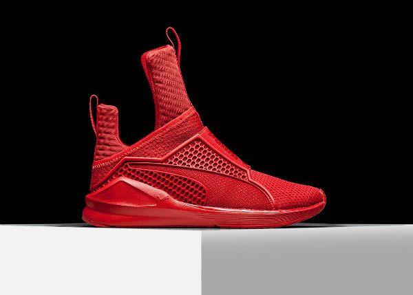 puma sneaker rouge