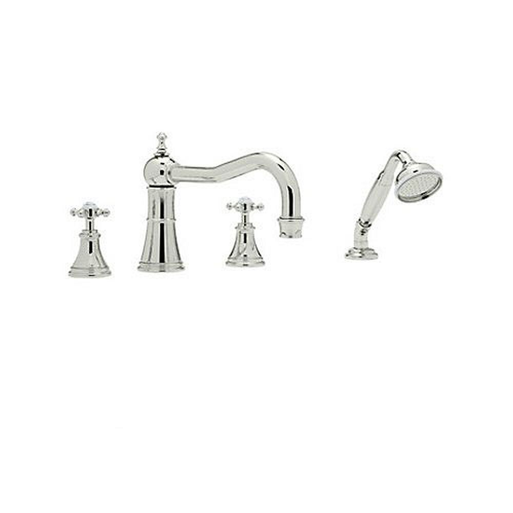 Rohl Perrin And Rowe Roman Tub Faucet In Polished Nickel Tub