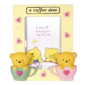 Make your first date a bit easier with a ‪#‎CoffeeDate‬ ‪#‎PhotoFrame‬.  Shop ‪#‎OnlinegiftstoIndia‬ @ http://www.giftsngreets.com