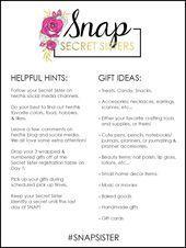 SNAP Conference Secret Sister 2016  Secret Sister Helpful Hints & Gift Ideas    ... ,  #birthdaypresentsforsister #Conference #Gift #Helpful #Hints #Ideas #Secret #Sister #Snap