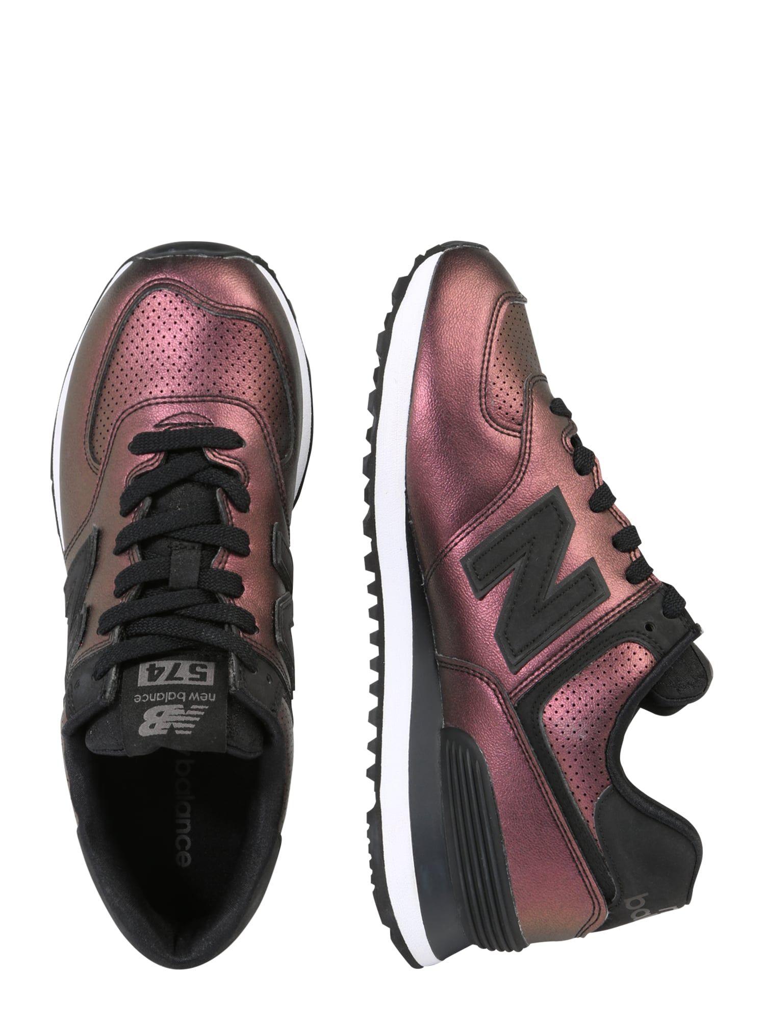 New Balance Sneaker 'WL574-KSB-B' Damen, Dunkellila, Größe ...