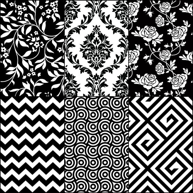 Black And White Baby Pattern Pictures Pattern Pictures Black