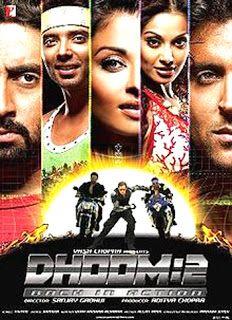 Dhoom 2 Movie S Songs Name 1 Crazy Kiya Re 2 Dil Laga Na 3 Dhoom Again 4 Touch Me 5 Dhoom Again Remix 6 Dhoom 2 Bollywood Movie Songs Bollywood Movie
