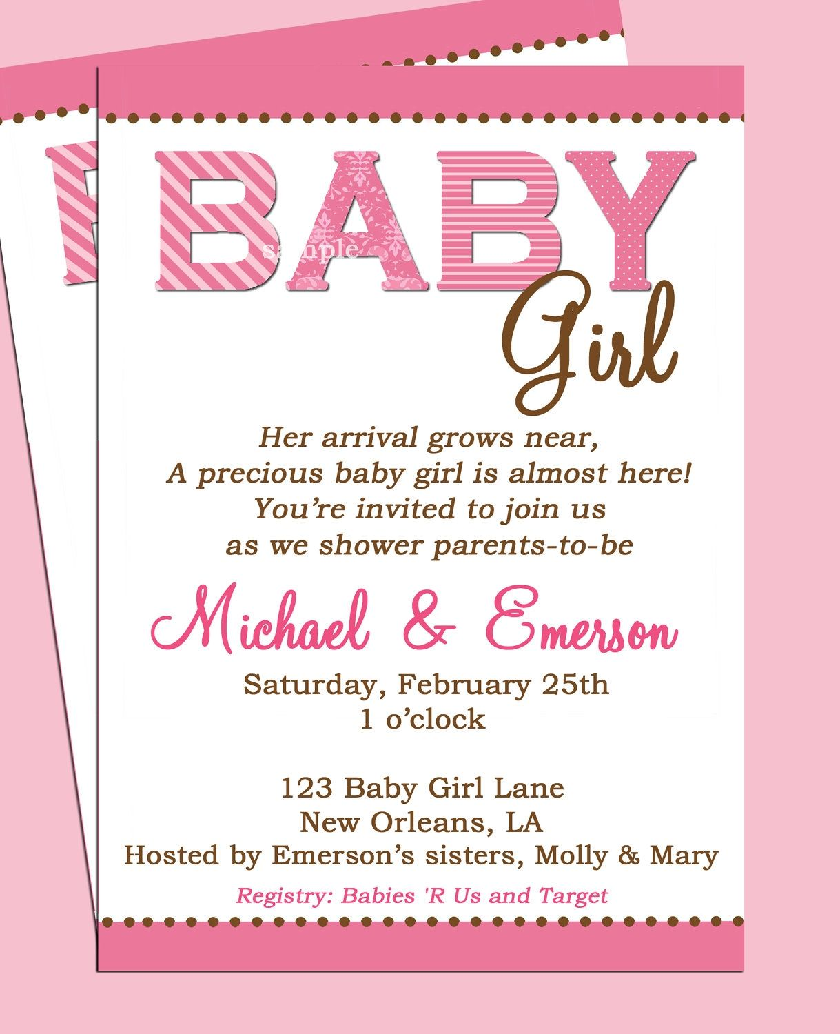 Surprise Baby Shower Invitation Wording Ideas | http://atwebry.info ...