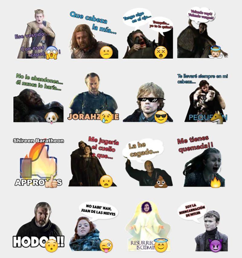 169078bb411b6b08b5427a704b51c601 meme of thrones stickers set telegram stickers telegram