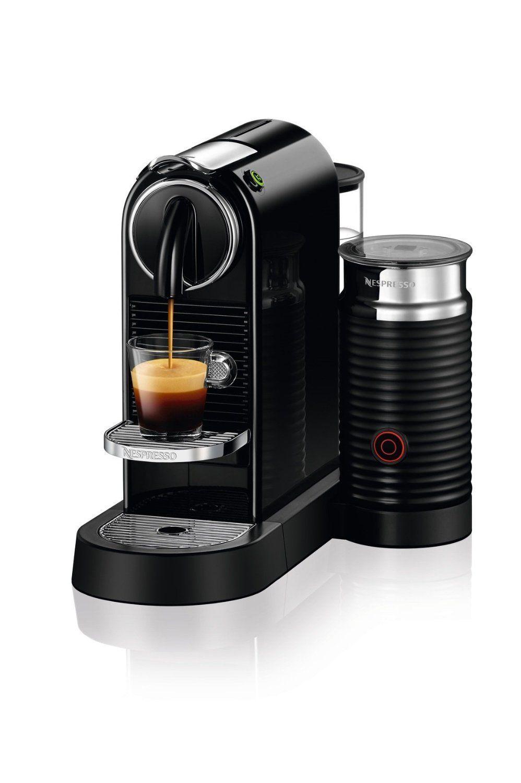 Nespresso D122 Us Bk Ne Citiz Milk Espresso Machine Black