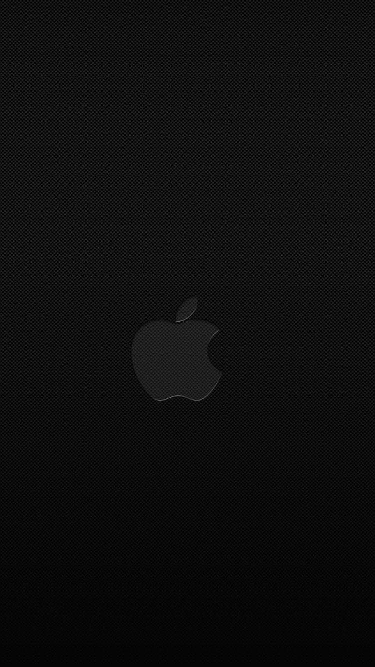 Black Iphone Wallpaper For Iphone 6 Apple Logo Wallpaper Black Apple Wallpaper Black Apple Logo