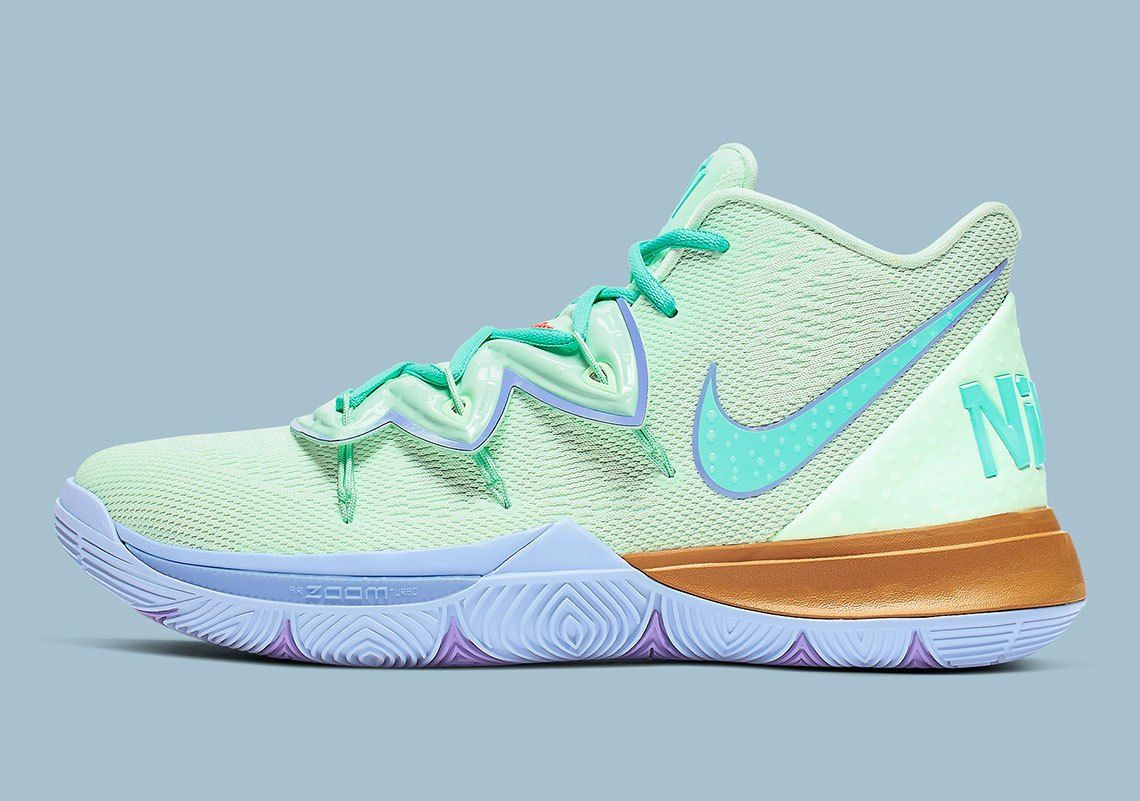 The Nike Kyrie 5 Squidward Releases On