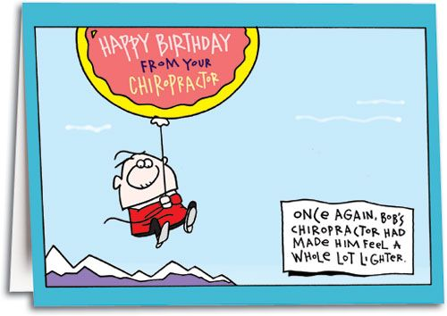 Chiropractic Birthday Cards My Birthday Pinterest Birthday
