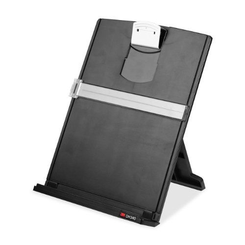 office paper holders. 3M Desktop Paper Document Copy Holder, 150 Sheet Capacity (DH340MB) Office Holders E