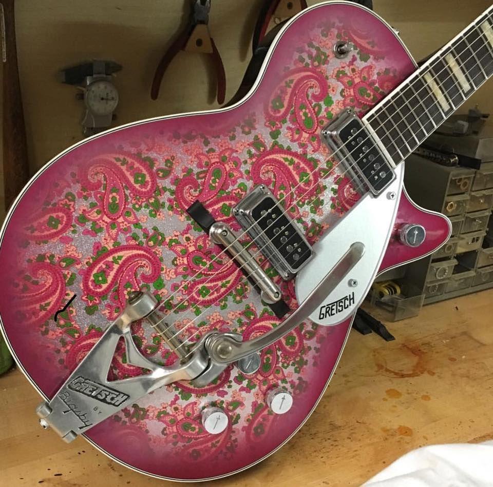 Paisley Gretsch Guitars Custom Shop with Seymour Duncan pickups ...