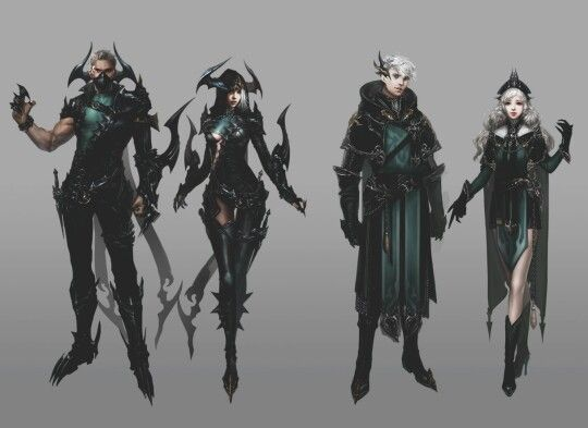 Fantasy Concept Art Outfit