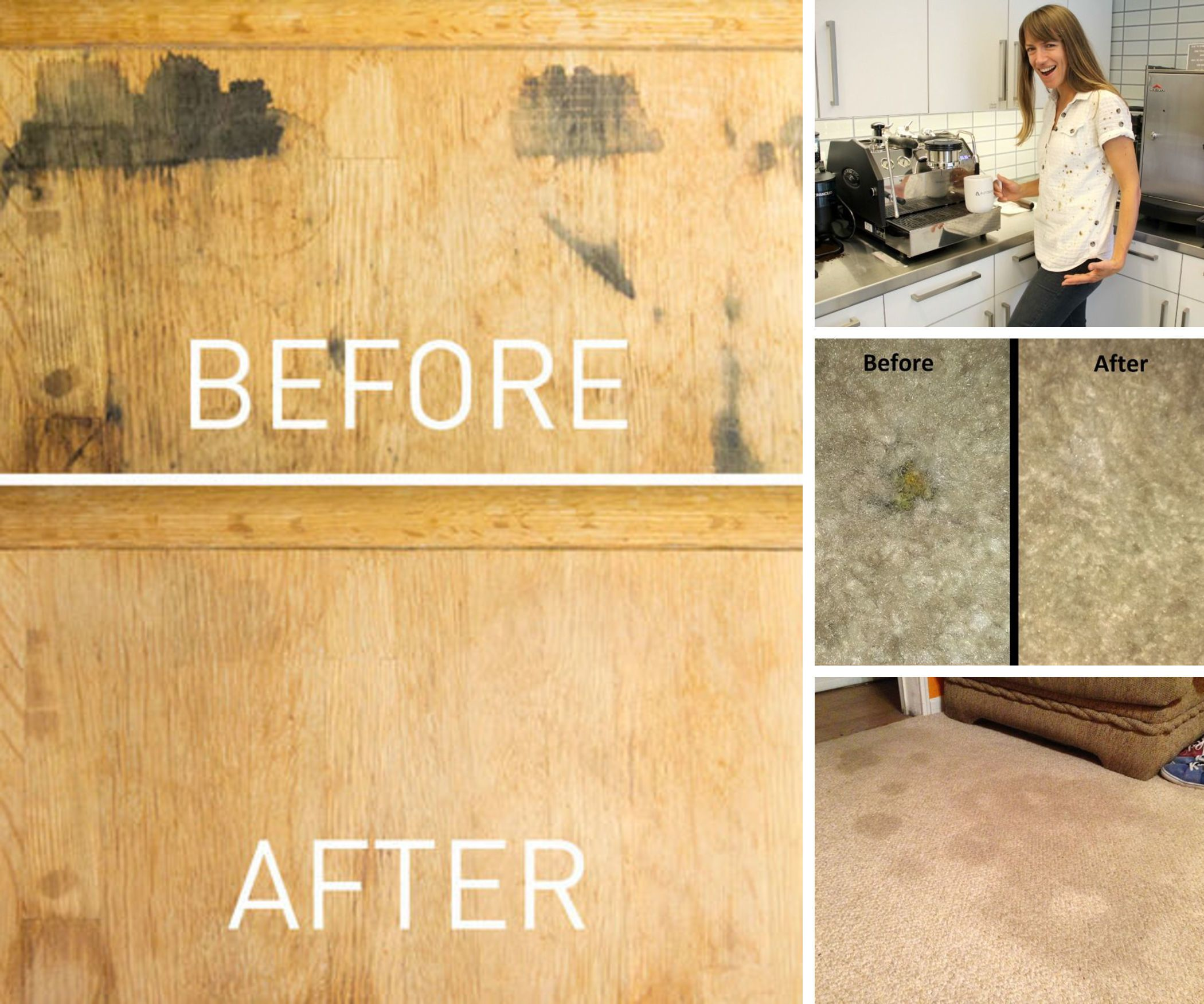 Stain Removing Hacks For The Most Annoying Of Stains Staining Wood Water Stain On Wood Cleaning Hacks
