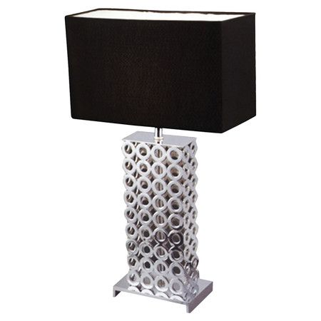 Illuminate Your Nightstand Or Favorite Reading Nook In Style With This Chic Table  Lamp, Showcasing