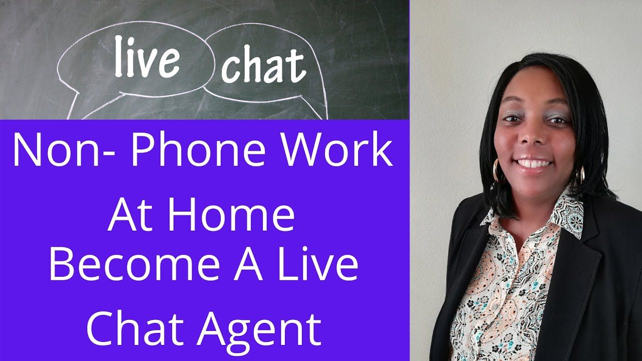 Work From Home Chat Jobs (1 Top Sites)! in 2020 Working