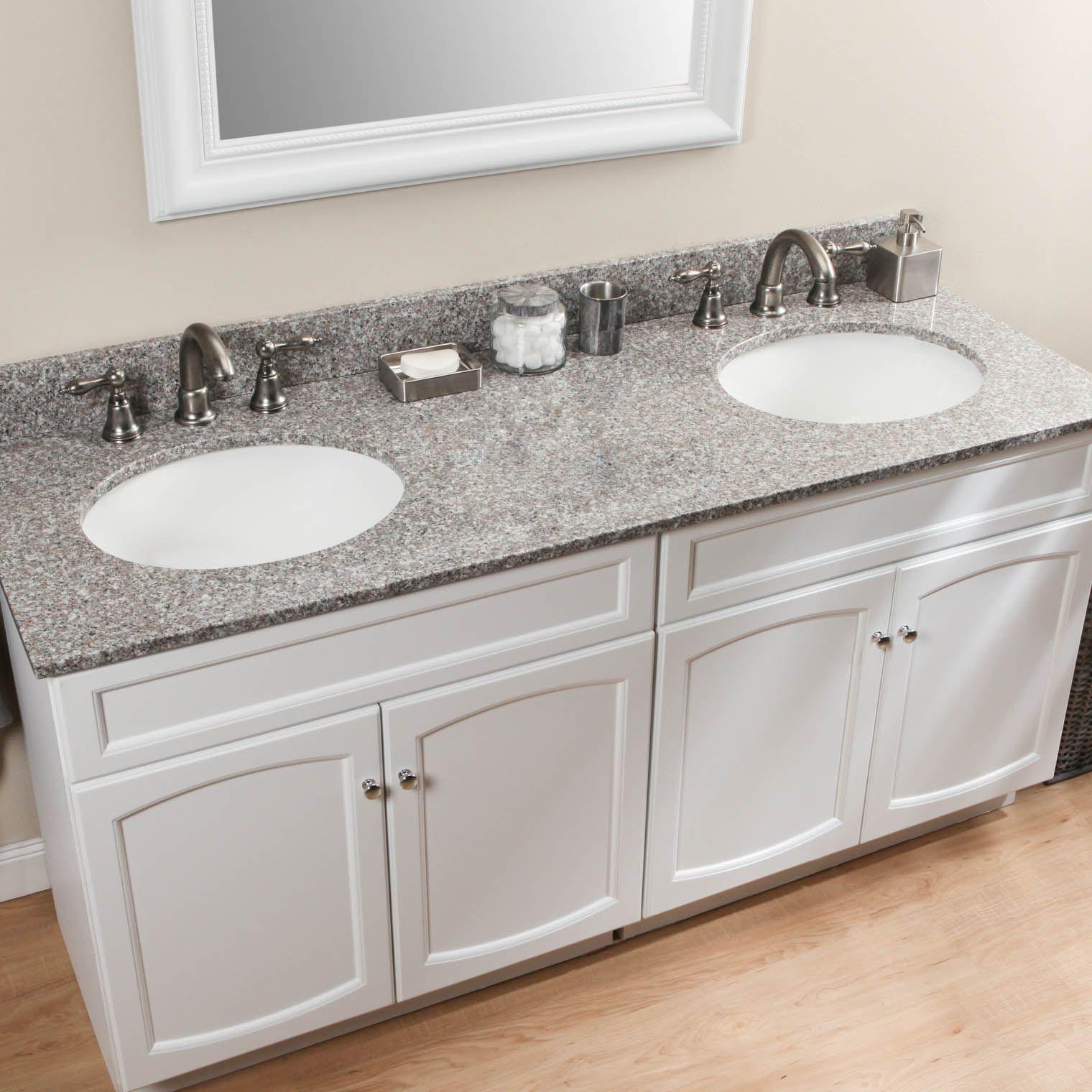 burlywood granite in bathrooms | Kitchen Design | Pinterest