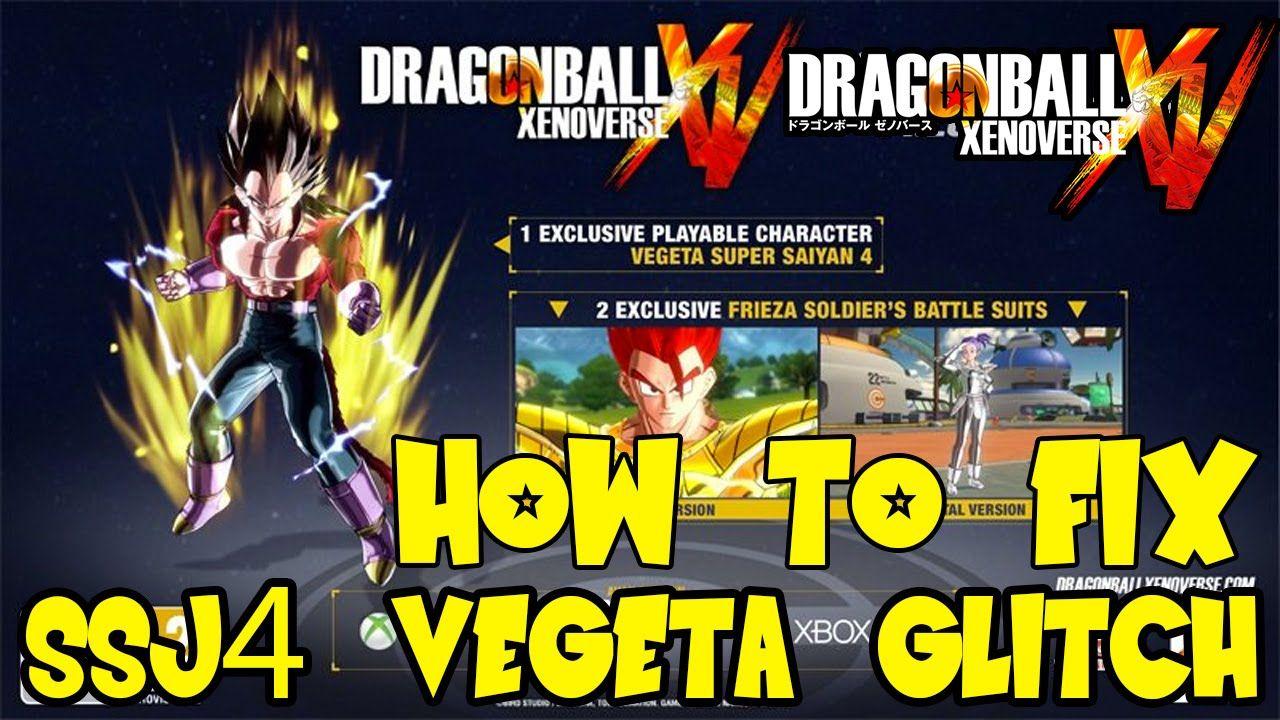 Dragon Ball Xenoverse: How To Unlock Super Saiyan 4 Vegeta & Gold