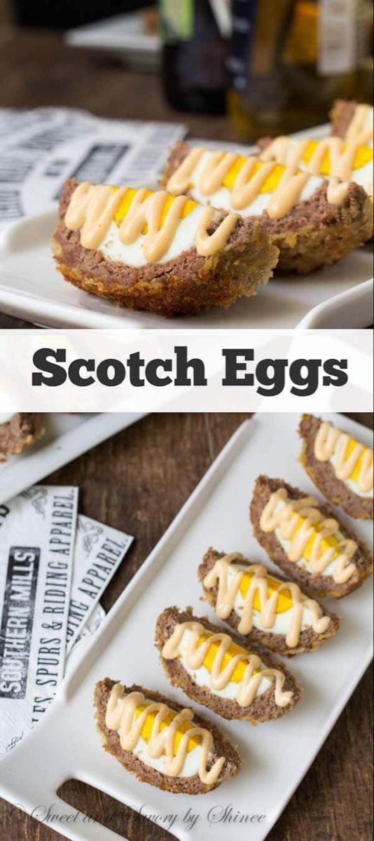 Scotch Egg ~Sweet & Savory
