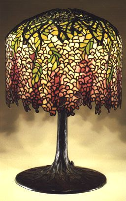 Tiffany favrile glass and bronze wisteria lamp 1900 1910 lamps tiffany favrile glass and bronze wisteria lamp 1900 1910 mozeypictures Gallery