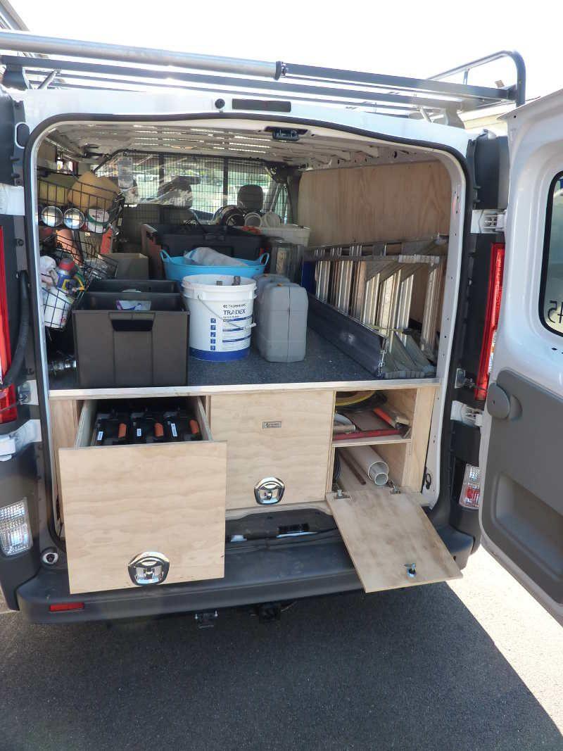 Van Organization Van Storage Truck Organization