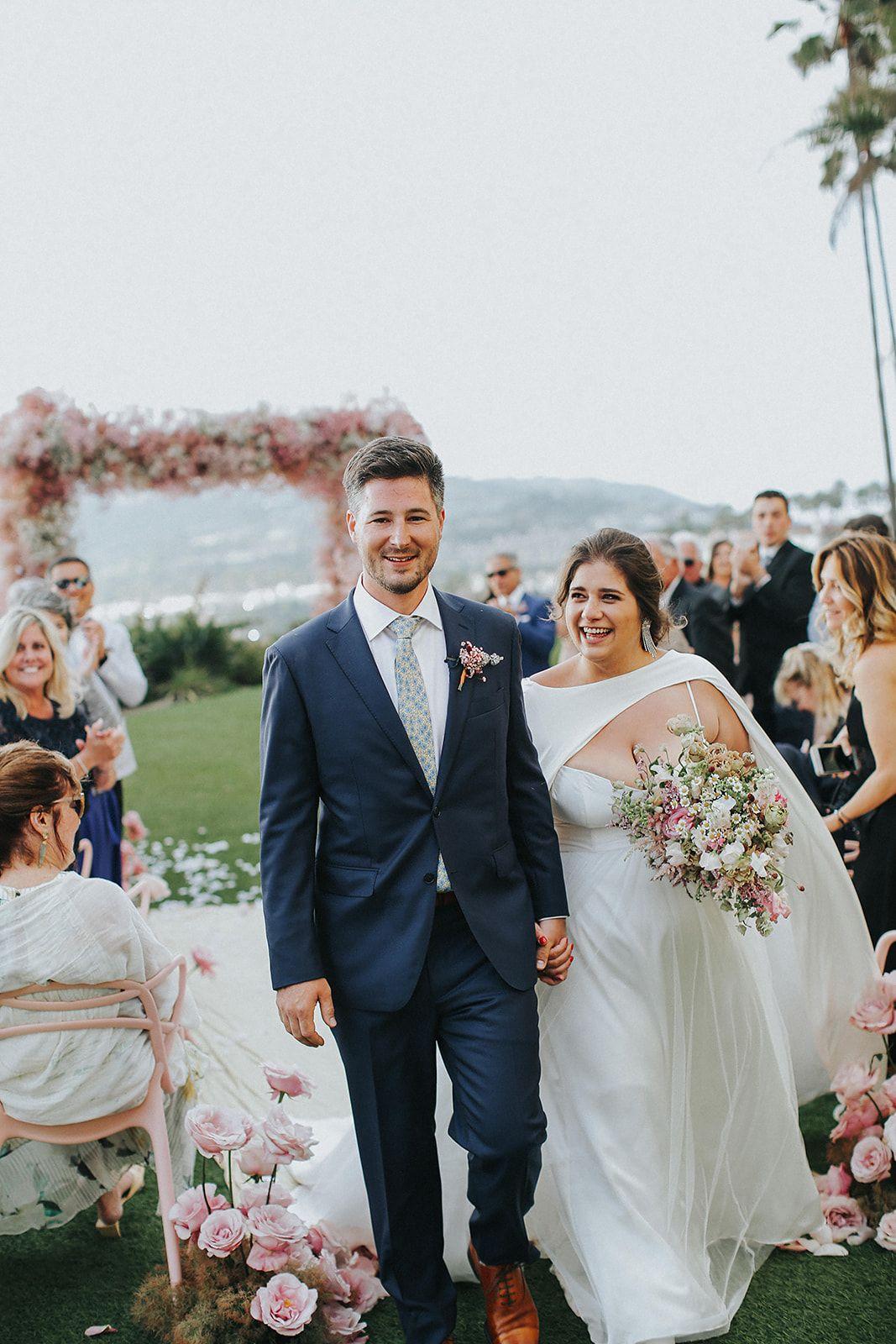 Pink and Modern Laguna Niguel Wedding at the Ritz