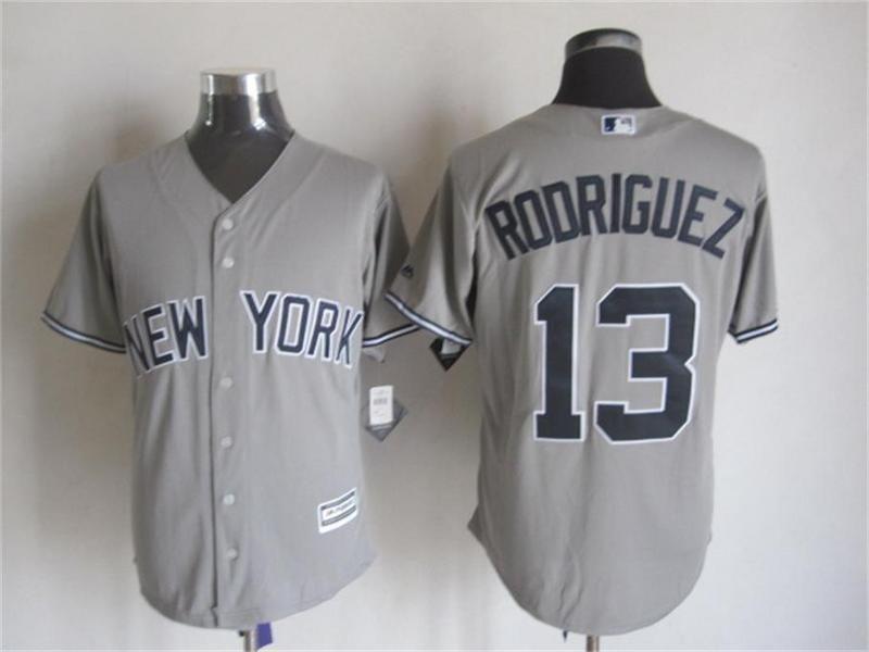 95c047d8a new york yankees 13 alex rodriguez gray away road 2015 mlb cool base jersey