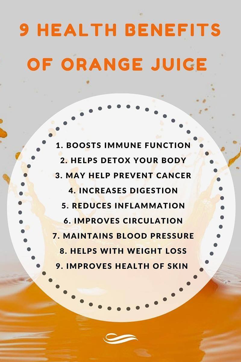 orange juice improves skin health (and 8 other benefits