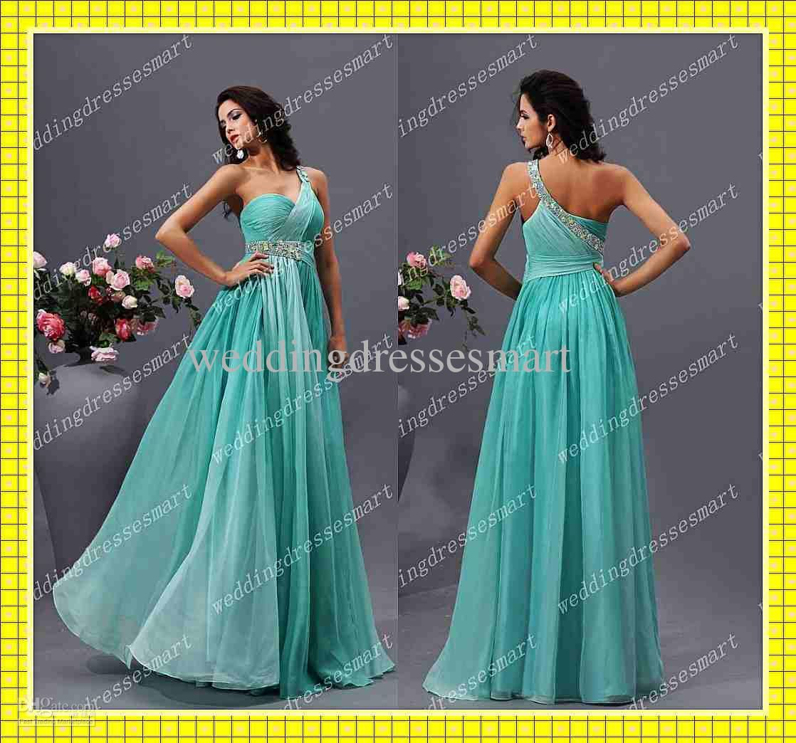 Custom ombre aline one shoulder beaded chiffon pageant prom