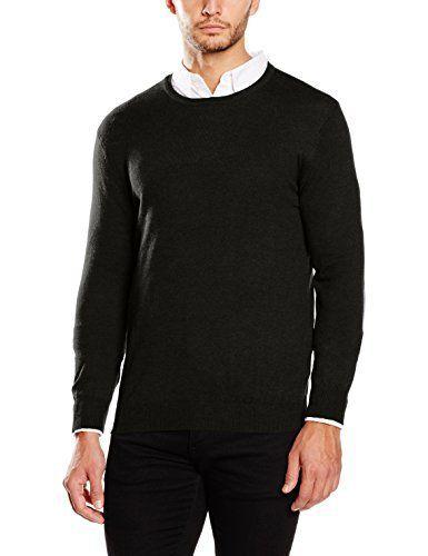 Celio Feria, Pull Homme, Noir (Black), Medium (Taille Fabricant  M ... 6a7d35046cd0