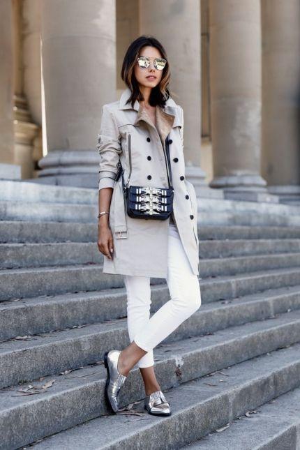 Обожаваме белите джинси!