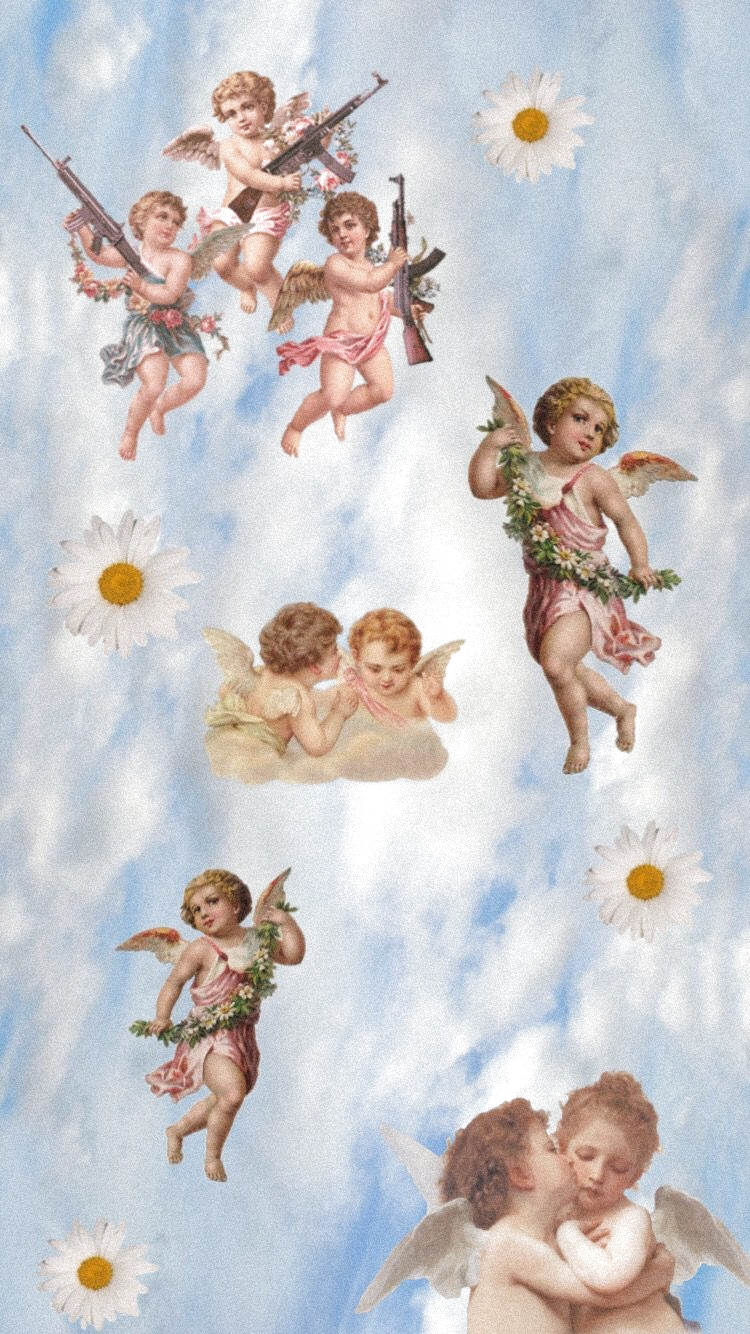 Angel Aesthetics Fondos Wallpaper Cute Fondostumblr Coolart Angel Wallpaper Aesthetic Iphone Wallpaper Iphone Wallpaper Vintage