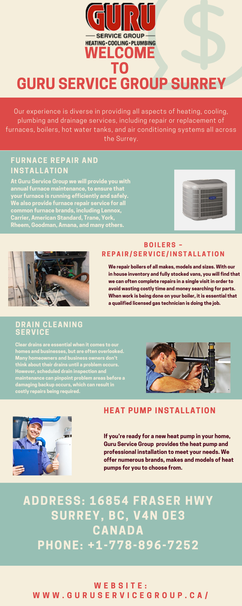 Certified heating experts will fix your furnace right… right