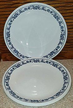 Pyrex Dinner Plates. SET OF 6 - Corning Corningware Corelle Old Town Blue 10 Inch Glass Dinner Plates. #pyrex #dinner #plates #pyrexdinner #dinnerplates & Pyrex Dinner Plates. SET OF 6 - Corning Corningware Corelle Old Town ...