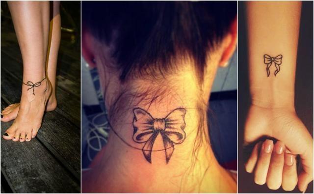 Urzekające Tatuaże Kokardki Coś Dla Pań Tatuaże
