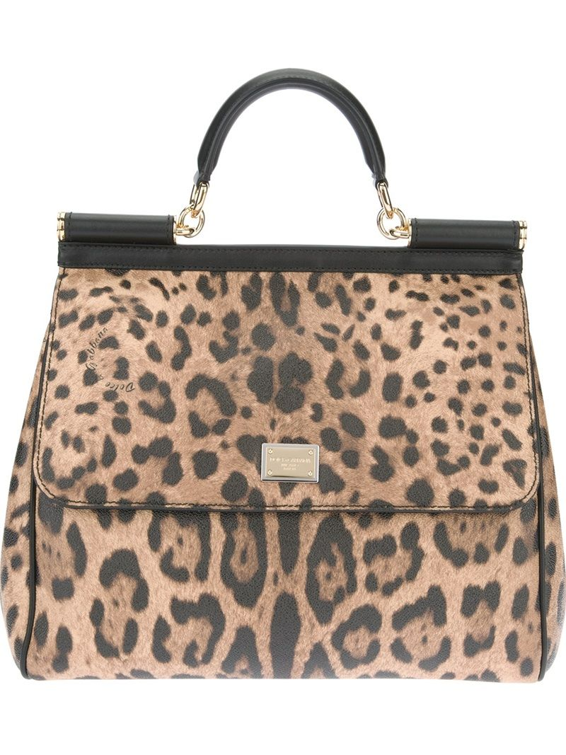 5dcbb2fa95 Animal print for me. LOVE this Dolce Gabbana bag
