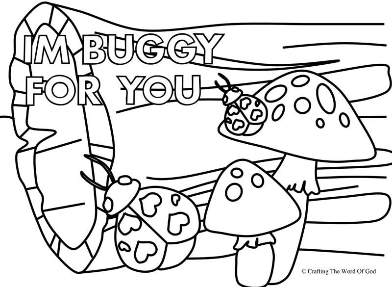 I'm Buggy For You 2 (Coloring Page) Coloring pages are a