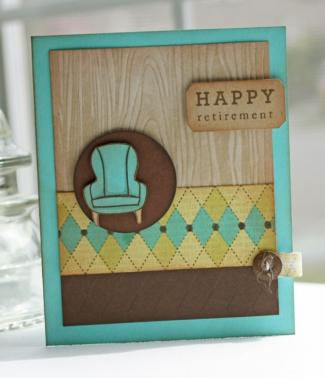 Retirement Card Marge Do You Have A Rocking Chair Stamp?