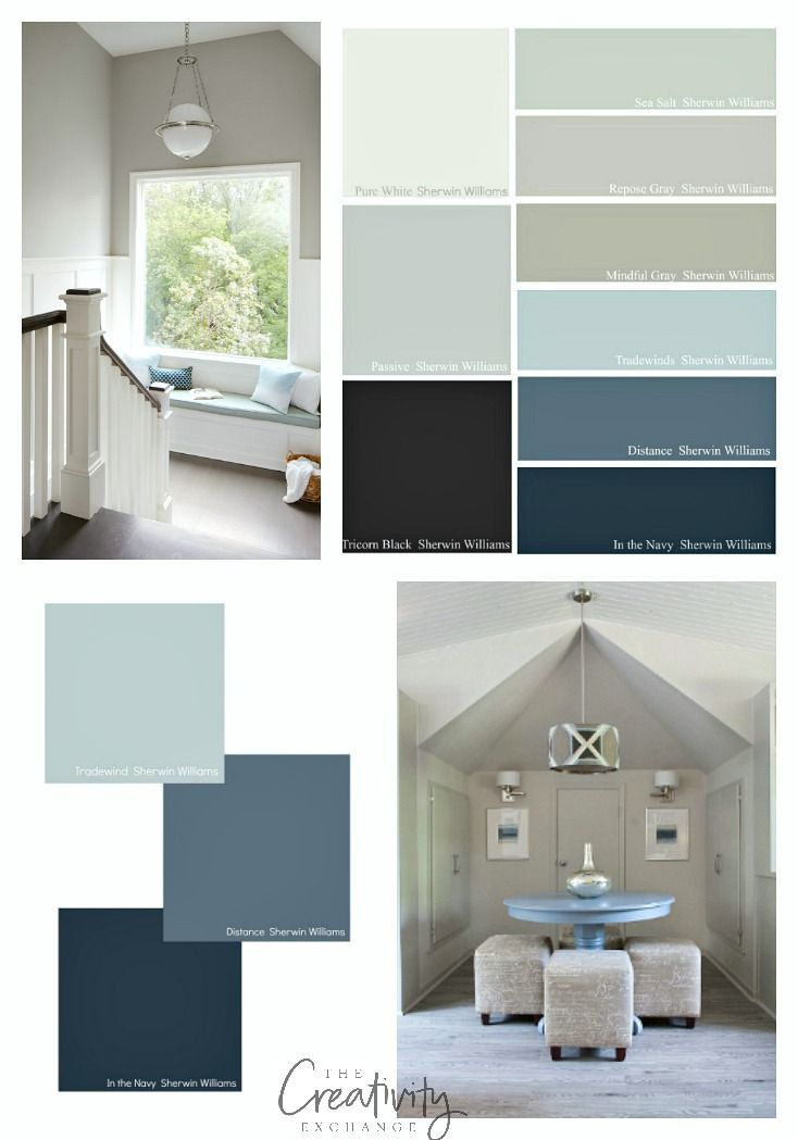 image result for repose gray and indigo sherwin williams on most popular paint colors for inside home id=12619