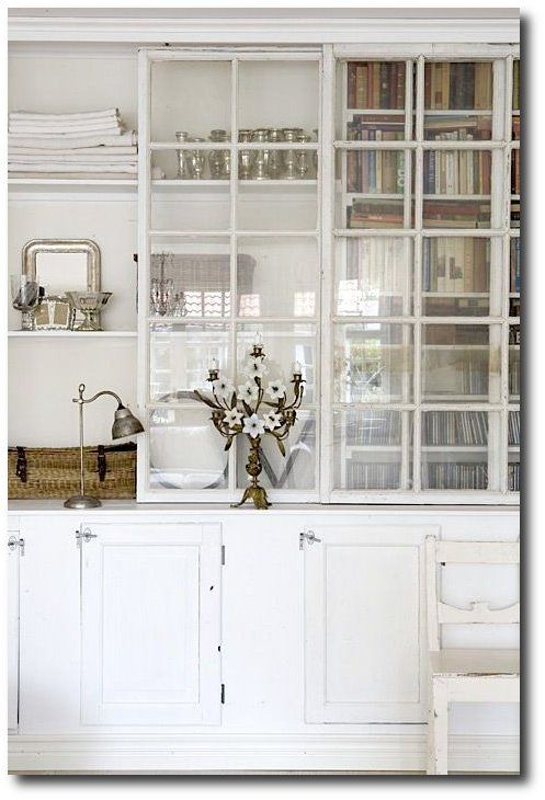 Not Usually A Fan Of See Through Cabinetry But For These