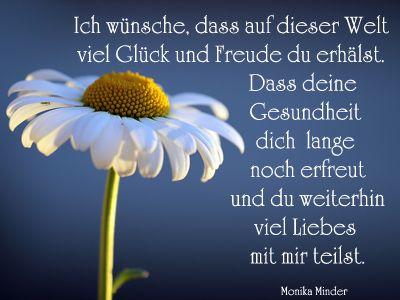 Gedichte Und Sprüche Für Gratulationen Und Grüsse Zum Geburtstag. Kurz,  Lustig, Modern Oder Klassisch, Mit Ich Wünsche Dir Glück..