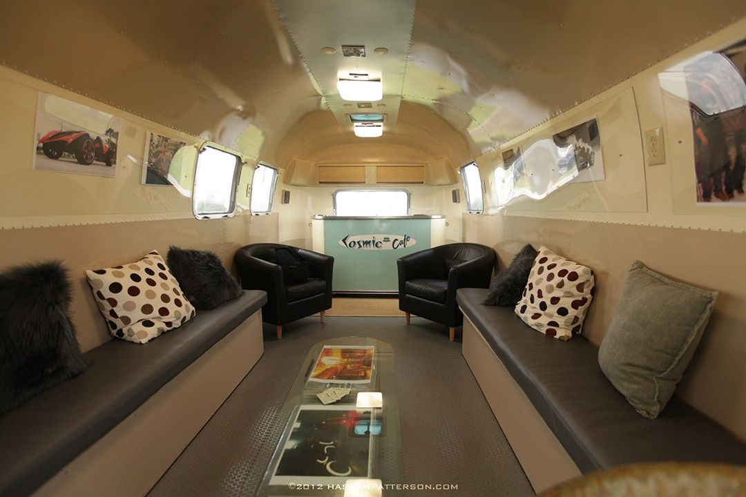 AIRSTREAM Media Lounge 34 Hire For Trade Shows Events Orlando Miami Jacksonville