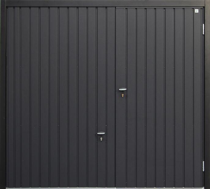 Image Result For Sectional Garage Door With Wicket Door Door