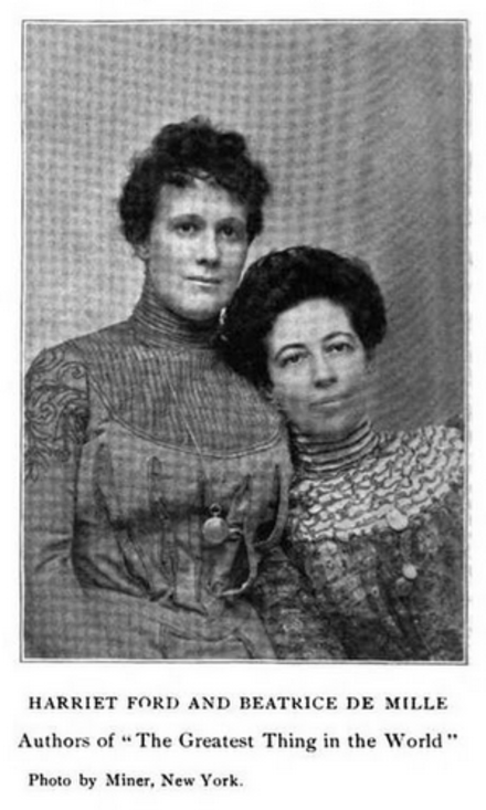 harriet ford and beatrice de mille ford historical historical figures pinterest