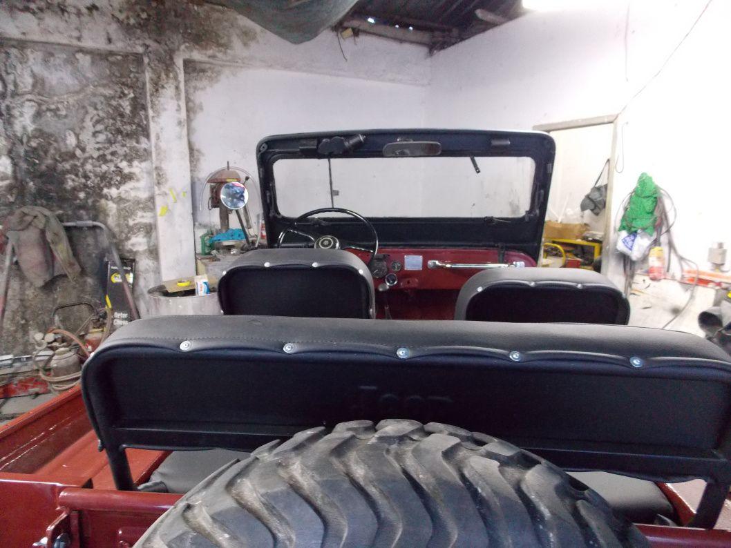 Restauração Jeep Willys CJ3B 1954 - Cara de Cavalo