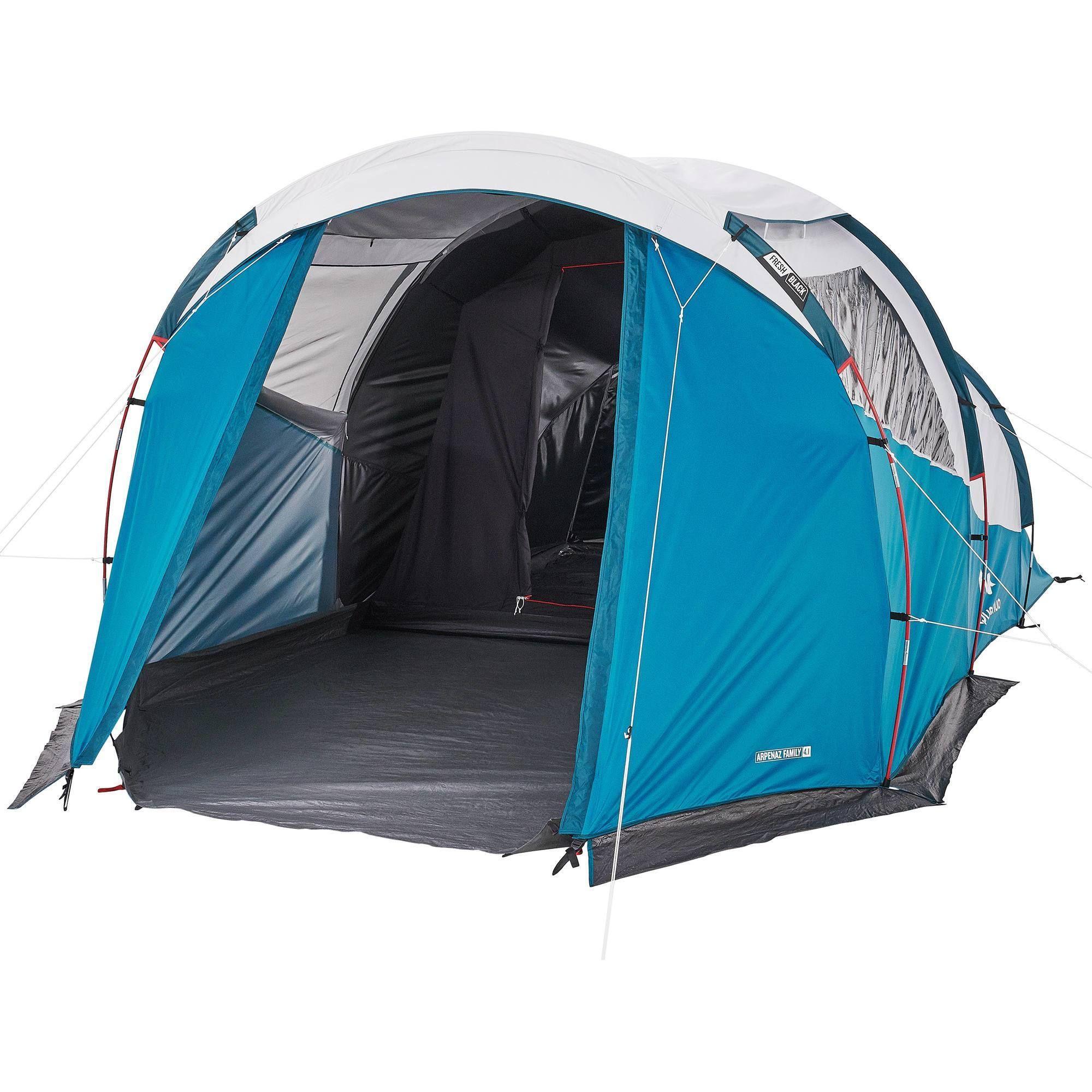 Kampeertent Voor 4 Personen Arpenaz 4 1 F B 1 Slaapcompartiment Kamperen Met De Tent Tent Persoonlijkheid
