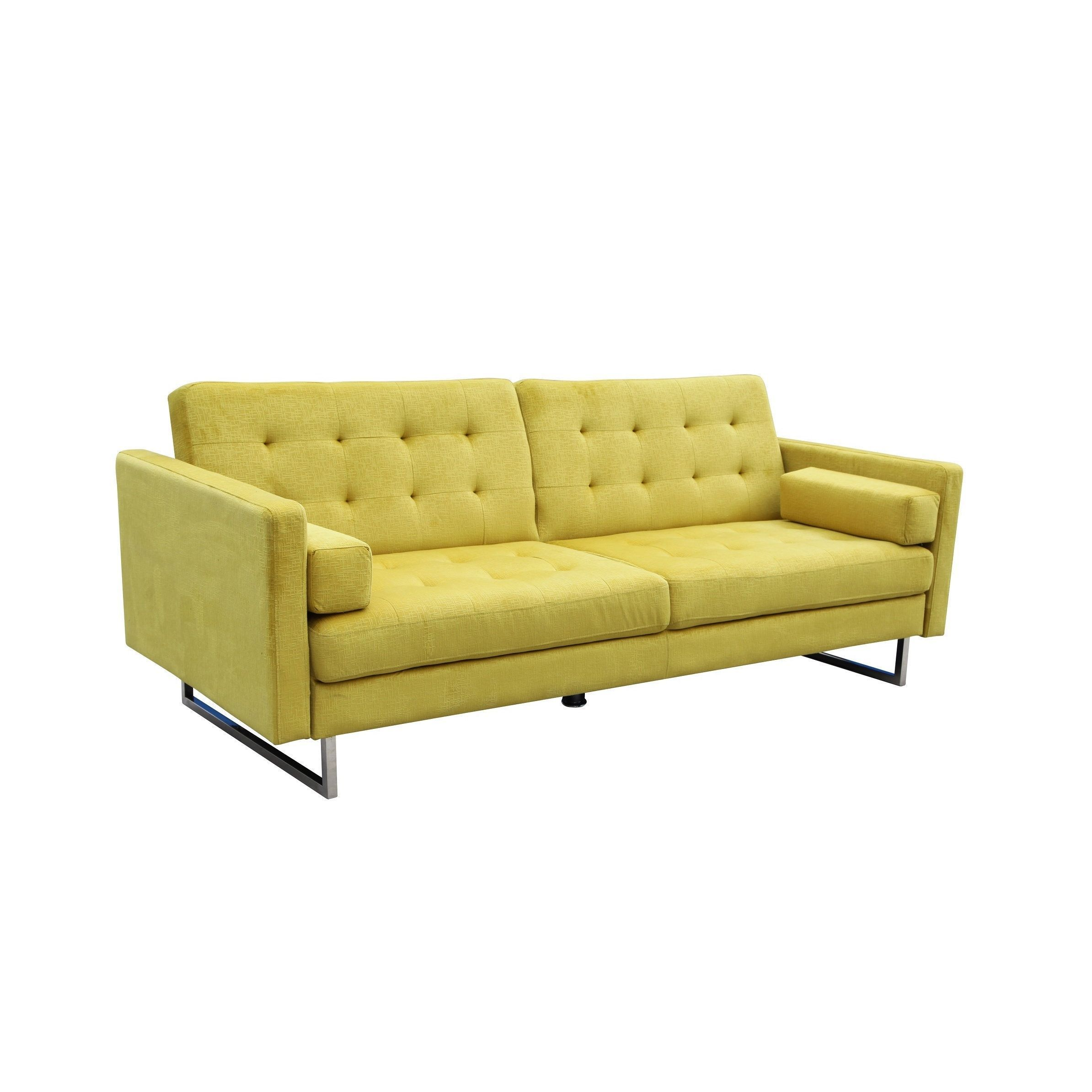 Fabric Microfiber Mid Century Modern Futon Set Sleeper Sofa Futons Add Soft And Versatile Seating To Your Home With Stylish